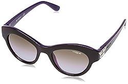 Vogue Gradient Cat Eye WomenS Sunglasses - (0Vo2872S21866850|49. 3|Violet Gradient)