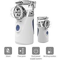 Manuelle Inhalatoren Dampfinhalator Inhalator Vernebler Tragbar Zerstäuber Cool Mist Inhalator Kit ideal für Kinder... - preisvergleich