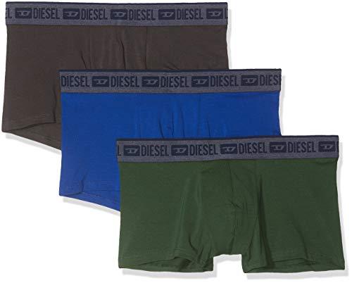 Diesel Herren Unterhose UMBX-SHAWNTHREEPACK (3er Pack), Mehrfarbig (Dark Green/Grey/Surf The Web E4903-0Pawi), M -