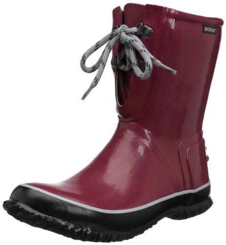 bogs-urban-farmer-boot-donna-us-6-rosso-stivale-di-gomma