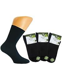 Star Socks Bambussocken 3er-Pack schwarz antibakteriell