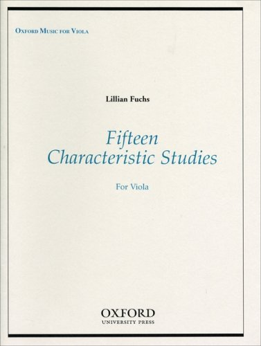 Fifteen Characteristic Studies for Viola
