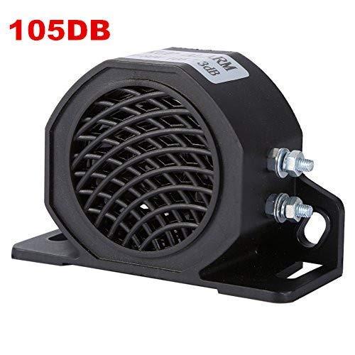 Yosoo 12-80 V 105 dB Universal Backup Piepser Warnung Rückfahralarm Hupe für PKW, LKW, Transporter, schwere Fahrzeuge