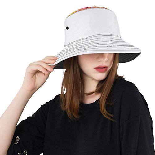 Wietops Sommer Fashionice Cream Cones Sommer Unisex Baumwolle Mode Angeln Sun Bucket Hats für Kind Teenager Frauen und Männer mit anpassen Top Packable Fisherman Cap für Reisen im Freien