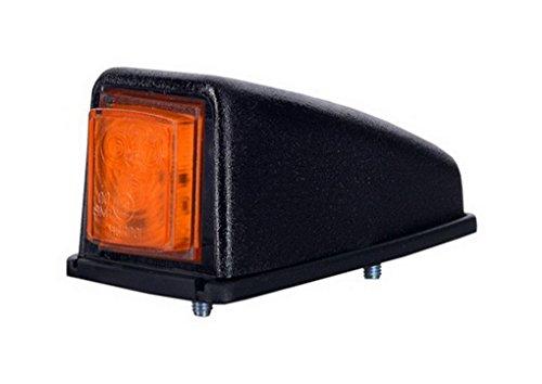 1 x 3 SMD LED Orange Dachleuchte Begrenzungsleuchte Seitenleuchte 12V 24V mit E-Prüfzeichen Positionsleuchte Anhänger Wohnwagen LKW PKW Leuchte