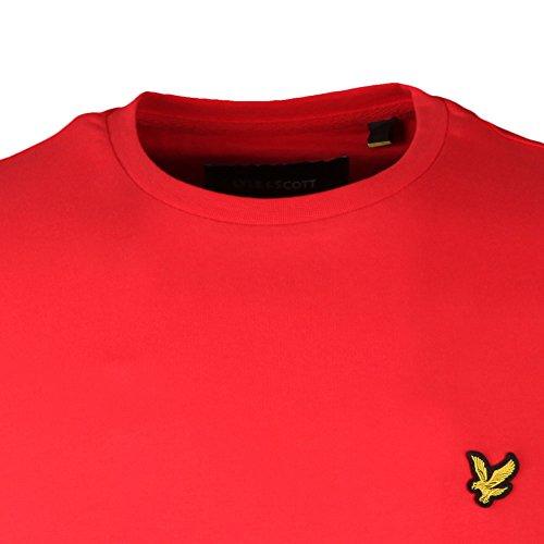 Lyle & Scott Herren T-Shirt Crew Neck Poppy (Z267)