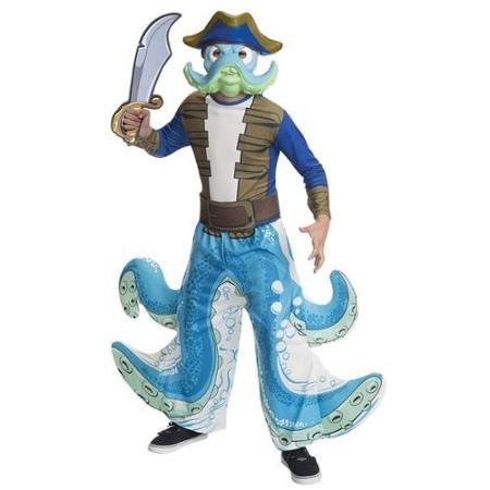 Skylanders Giants Wash Buckler Kinder Jungen Halloween Fasching Karneval Kostüm 152-164