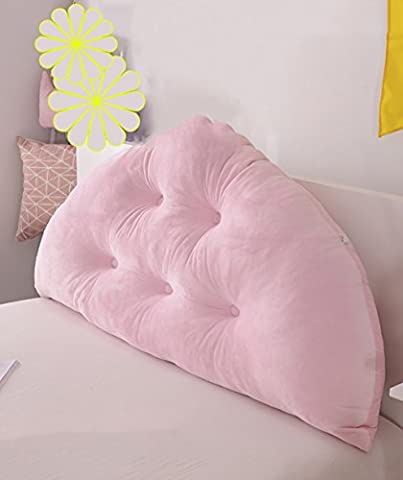 CAIJUN Soft Support Bedside Cushion Cuddly Bed Head Pillow Reading Backrest Detachable Buttons-Baby Bed/Twin Size/Full Size/Queen Size/King Size Stereo cushions ( Color : 5* , Size : 150*10*70CM )