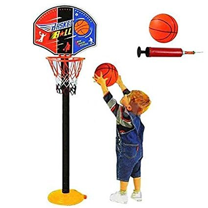 Great For Kids ! Mini Basketball Game For Indoor & Outdoor \ Target Ball Jump Run Loss Weight Play Net Hoop Set Adjustable Sport Toy Game Play Educational Creative Toddler Boys Girls Unique Special Birthday Party Christmas XMAS Present Construction Garage Child Kiddie Childrens Home Lawn Room Yard Backyard Playing Classic Retro Little Learning Development Developmental Building Craft Art Drawing Action Popular Preschool Activity Traditional Stuff Cute