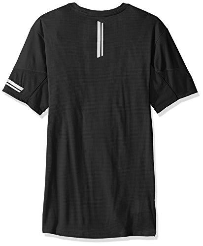 Salomon Agile SS M T-Shirt, Herren Black (Schwarz)