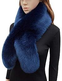 b8a1faf9462b George Bride Col Echarpe Femme En Fausse Fourrure Pour l hiver
