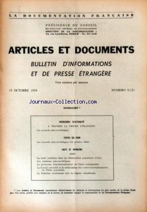 documentation-francaise-la-no-121-du-19-10-1954-articles-et-documents-bulletin-d-39-informations-et-de-presse-etrangere-a-travers-la-presse-etrangere-les-accords-sino-sovietiques-asie-la-sante-publique-le-processus-d-39-industrialisation-en-chine-le-travail-correctif-et-la-reeducation-des-contre-revolutionnaires-le-pakistan-s-39-achemine-vers-le-regime-republicain