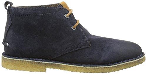 Pepe Jeans Fenix Chuckka, Chaussures Lacées Homme Bleu (585Marine)