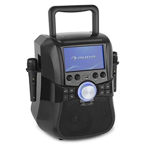 auna-stage-hero-karaoke-anlage-mit-dvd-player-25-watt-rms-7-tft-display-usb-port-bluetooth-2-x-mikro