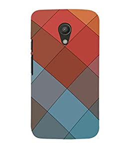 EPICCASE squares Mobile Back Case Cover For Moto G 2nd Gen (Designer Case)