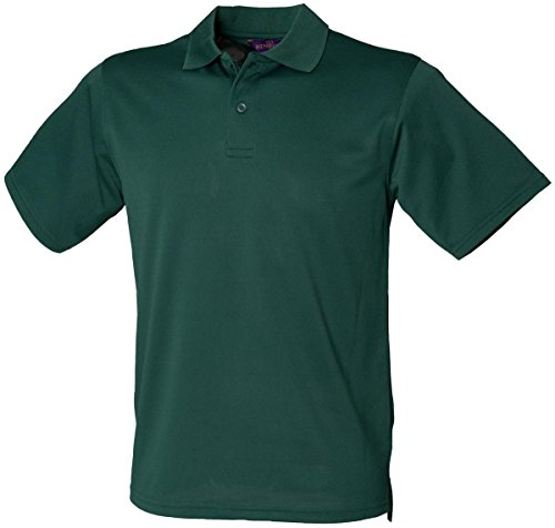 HenburyHerren Poloshirt Grün - Bottle