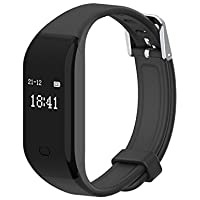 Fitness Tracker,Activity Tracker Cardiofrequenzimetro Impermeabile Smartband Braccialetto Fitness Orologio Smart Watch Band Pedometro da Polso Bluetooth Smartwatch per iPhone Android iOS Smartphone