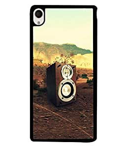 FUSON Designer Back Case Cover for Sony Xperia M4 Aqua :: Sony Xperia M4 Aqua Dual (Music Sets Sounds Lights home Theatre )