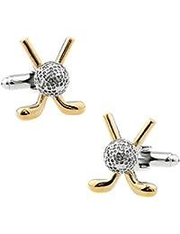 Hosaire 1 Paar Manschettenknöpfe Hemd Cufflinks Mode Kreativ Golf Modellieren Manschettenknopf Exquisite Zubehör