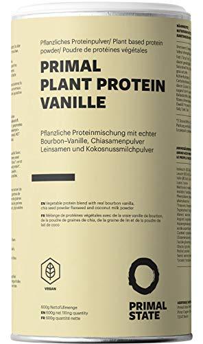 Pflanzliches Proteinpulver - Natürlicher Vanille Geschmack -