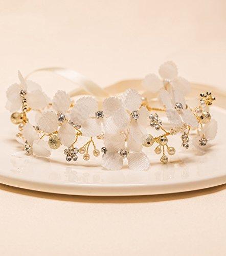 Europei E Retro Dea americana fascia Corona in rilievo Handmade intrecciato con gioielli