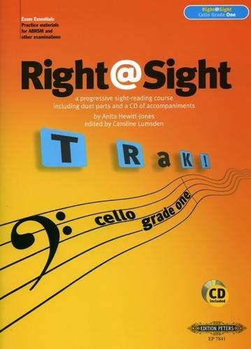 Right@Sight - Cello Grade 1, Hewitt-Jones Ed: Lumsden