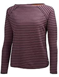 Helly Hansen W Naiad Ls Top - Camiseta manga larga para mujer, color negro, talla M