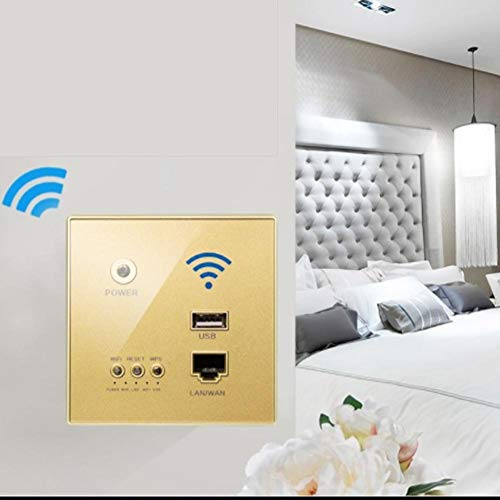 USB WiFi-Buchse WiFi USB-Buchse, 300 Mbps WiFi USB-Buchse Wand Routed Wireless AP Router Repeater Telefon Wand -