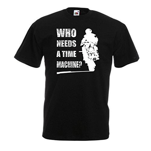 lepni.me T-Shirt da Uomo Abbigliamento Moto (XX-Large Nero Multicolore)