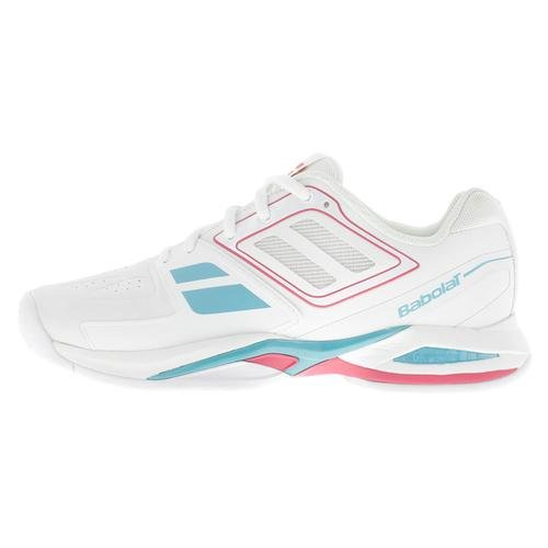 BABOLAT Propulse Team BPM All Court Scarpa da Tennis Donna Bianco/Rosa