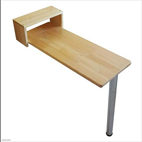 Home Frühstück (Zfggd Klapptisch Bar Tisch Home Massivholz Wandbehang Tisch Esstisch Studie Schreibtisch Optional Größe, Holz Farbe (größe : 80 * 30 * 73cm))