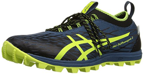 Asics Mens Gel Fuji Runnegade 2 Running Shoe Mediterranean/Flash Yellow/Black