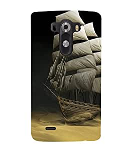 Sailboat wallpaper 3D Hard Polycarbonate Designer Back Case Cover for LG G3 :: LG G3 D855