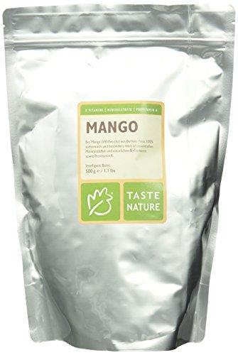 Taste Nature Mango Bio, 1er Pack (1 x 500 g Packung) – Bio