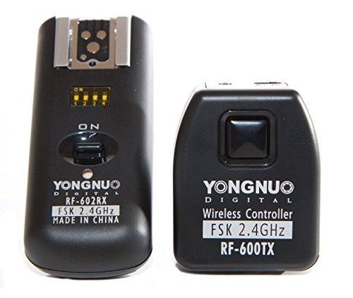 YONGNUO RF-602/C Funkauslöser und Blitzauslöser für Canon