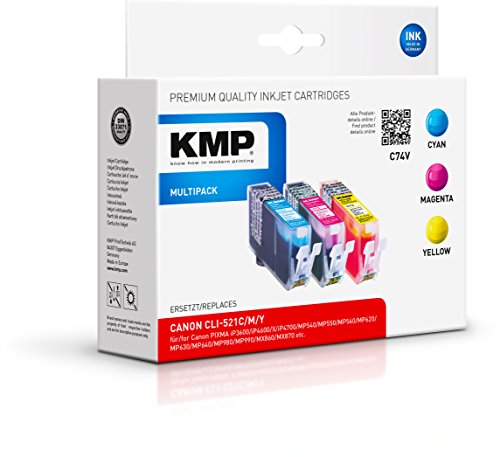 Preisvergleich Produktbild KMP Multipack für Canon Pixma iP3600/iP4600, C74V, Dye-Tinte