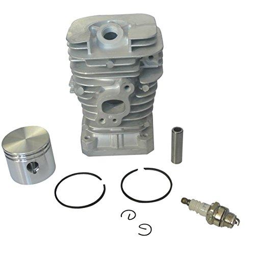 JRL Kit de Cylindre Set de Piston de vérin digne Pour Partner 350 351 370 390 420 220 221 260 1950, Poulan 41mm