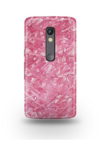 Moto X Play Cover,Moto X Play Case,Moto X Play Back Cover,Pink Fabric Moto X Play Mobile Cover By The Shopmetro-12278