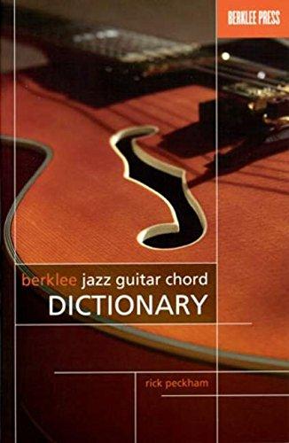 Berklee Jazz Guitar Chord Dictionary: Buch für Gitarre