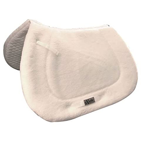 Intrepid International English Saddle Pad with Quilted Bottom