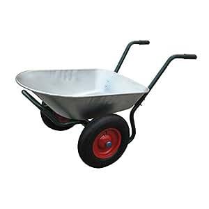 Brouette /chariot de jardin 2 roues, contenance : 150kg