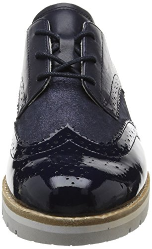 Gabor Damen Comfort 62558 Brogue Schuhe Blau oceannavy 26