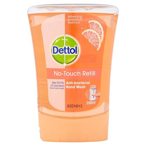 Dettol No Touch Refill Anti-Bacterial Hand Wash Refreshing Grapefruit Essence 250ml