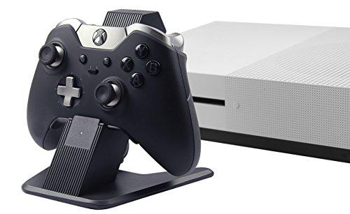 AmazonBasics - Stazione di ricarica in alluminio per controller per Xbox One, Xbox One S e Xbox One X, Nero