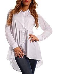 noch nicht vulgär großer Verkauf große Auswahl an Farben Suchergebnis auf Amazon.de für: vokuhila bluse - Baumwolle ...