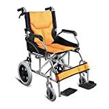 Shisky Folding wheelchair light portable travel ultra light elderly multi-function disabled travel trolley free inflatable
