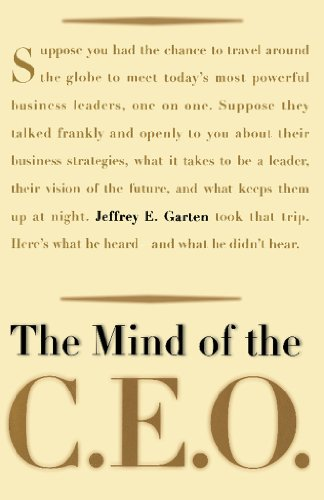 The Mind Of The CEO (English Edition)