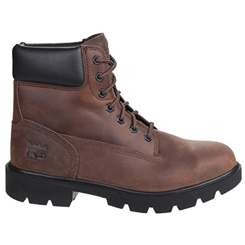 Timberland Sawhorse Brown Lace up Safety Boot - 12UK