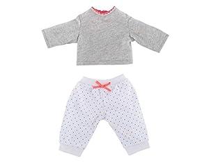 Corolle Djh41 - Pijama de Dos Piezas