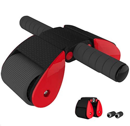 YUHAIJIE Rullo Addominale Portatile Semplice assemblaggio Pieghevole ABS Rullo, Core Muscle Toning casa/Palestra/Viaggio Allenamento ab Rullo Ruota